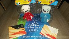 Rarissime Mascotte NEVE e GLIZ Olimpiadi Torino 2006 Winter Olympics Mascots
