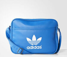 Adidas Originals Classic Airliner Shoulder Messenger Bag Blue -- AB2708