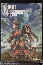 Infinite Undiscovery Player's Guide book oop japan
