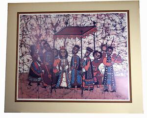 "30"" Huge Artist Proof Amos Amit RARE Print The Wedding Amazing Wall Art"