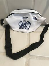 Vintage Rado Swiss Watches Adidas Lipton Tennis Fanny Pack Belt Waist Bag