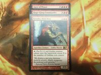 Commander-GOBLIN-KRENKO, MOB BOSS-RED-EDH-MTG-MAGIC-RARES-MYTHICS-READY TO PLAY