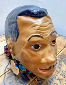 rare cesar masquerade mask Jesse Jackson run jesse run made in france 1988