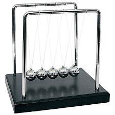 Large Newtons Cradle Office Desk Toy Kenetic Educational Gravity Balance Balls