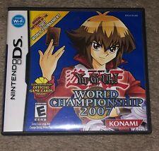 Yu-Gi-Oh World Championship 2007 (Nintendo DS, 2007) FAST SHIPPING