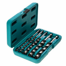 Makita P-46464 Auger Wood Drill Bit Set in Carrying Case 5pc 200mm