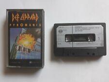 DEF LEPPARD - Pyromania - Cassette album