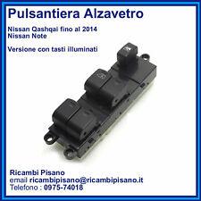 Pulsantiera Alzavetro Nissan Note - Qashqai fino al 2014 - Tasti Illuminati
