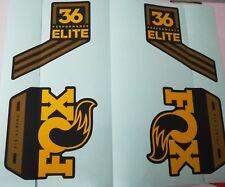 Fox  36 Performance Elite Federgabel Stickerset Neu