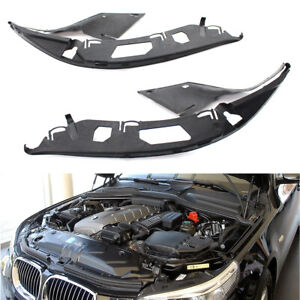 Left & Right Upper Headlight Gasket Seal Sealing Strips For BMW E60 525xi 525i