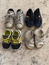 Girl Baby Toddler shoe lot size 5 Converse Salt Water Sandals Toms Adidas
