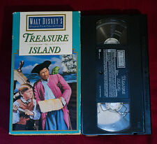 Walt Disney's Treasure Island (VHS, 1992) starring Bobby Driscoll