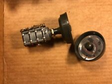 1960s Saba 500k/10k ohm Dual Concentric Stereo 4 Channel Potentiometer w/ Knobs