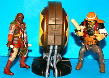 STAR WARS LEGACY AK REV & UMPASS STAY JABBA'S PALACE DRUMMER'S LOOSE COMPLETE