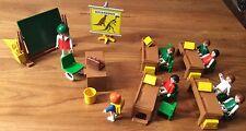 Playmobil aula escuela dinosaurios 3522