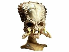"S  Collection 14""Predator VS Alien Skull Sideshow Classic Resin Predator Skull"