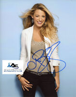 BLAKE LIVELY AUTOGRAPH SIGNED 8X10 PHOTO COA