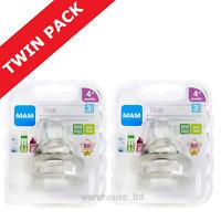 Mam Teats, Fast Flow - TWIN PACK (4 Teats)
