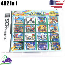 482 in 1 Game Cartridge Mario Multicart New for NDS DS Lite NDSi 3DS 2DS XL US