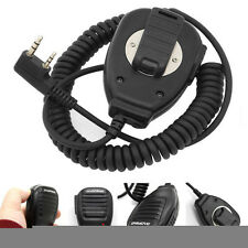 Schwarz Baofeng Speaker Mic Headset for UV-5R A UV-82L GT-3 888s Two-way Radio