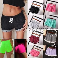 Damen kurze Hose Shorts Sporthose Fitness Freizeit Jogging Pants Yoga Shorts GYM