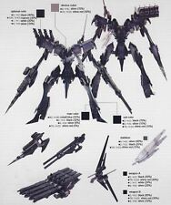 Kotobukiya Omer TYPE LAHIRE Stasis Armored Core ac 1/72 Model kit Toy game 4 v