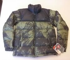 NWT The North Face Men's M Desolation Puffer Jacket Camo Green Size M