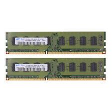 For Samsung 4GB 1066MHZ Desktop (2x 2GB) DDR3 PC Memory PC3-8500 DIMM RAM 240pin