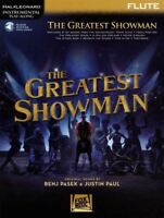 The Greatest Showman for Flute Instrumental Play-Along Sheet Music Book/Audio