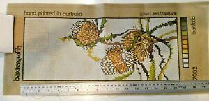 Baxtergrafix Tapestry Canvas..Series 7002,  BANKSIA