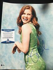 Amy Adams Signed 11x14 Photo Beckett Authenticated Services COA Superman
