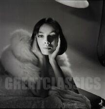 MARIE LAFORET NEW YORK 1961 BEAUTIFUL 2 1/4 CAMERA NEGATIVE PETER BASCH