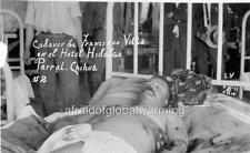 Photo. 1924. Postmortem Pancho Villa Lying In Bed