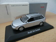 Minichamps ° Audi A4 B6 Avant silber ab 2000 neu OVP  1:43