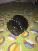 SMC Pentax-M f1.7 1:1.7 50mm ME K Mount lens with one  cap