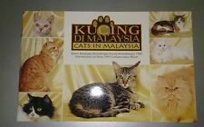 1999 Kucing Di Malaysia International Cat Show Commemorative Album, no stamp