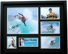 New Kelly Slater Signed Limited Edition Memorabilia