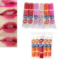 Colors Lip Gloss Waterproof Long Lasting PEEL OFF Tattoo Lipstick GIFT U8G4