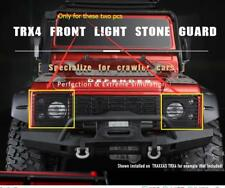 Front light stone guard mesh 2 pcs for TRAXXAS Trx4 trx-4 RC CAR