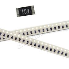 200 pcs SMD SMT 1206 Chip Resistors Surface Mount 10K 10Kohm 103 +/-5% RoHs