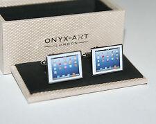 Novelty Cufflinks - IPAD Tablet Design - i pad