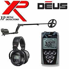 "XP DEUS WIRELESS Metal Detector With REMOTE + 9"" DD COIL + WS5  HEADPHONES"