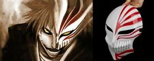 Bleach Props Ichigo Kurosaki Halloween Bankai mask Cosplay Masquerade Party Mask