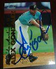 Alex Gonzalez Signed 1999 Fleer Tradition Marlins Baseball Card Autograph Brewer