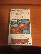In the Christmas Spirit (VHS, 1999) A celebration of music and light...005