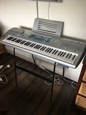 Casio WK 3000 keyboard piano synthesiser with keyboard stand
