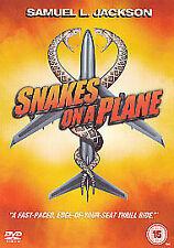 Snakes On A Plane (DVD, 2006) As New & Sealed Samuel L. Jackson, Kenan Thompson,