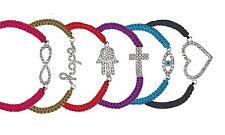 Set of Six Shamballa Message Bracelets