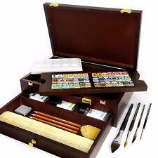 ROYAL TALENS - REMBRANDT 'MASTER' EDIZIONE ACQUERELLO kit artistico in in legno