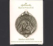 Hallmark Ornament 2012 Mother and Child Pewter NIB